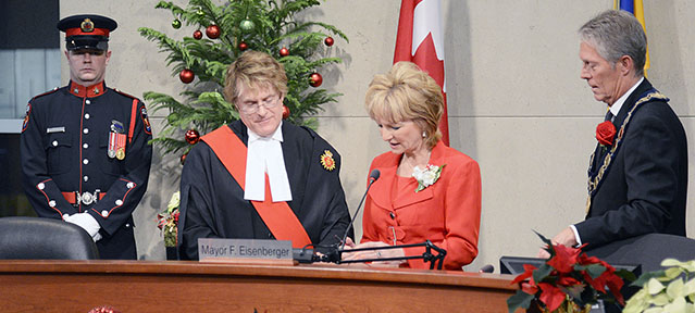 Councillor Partridge Inaugoration Ceremony – cropped