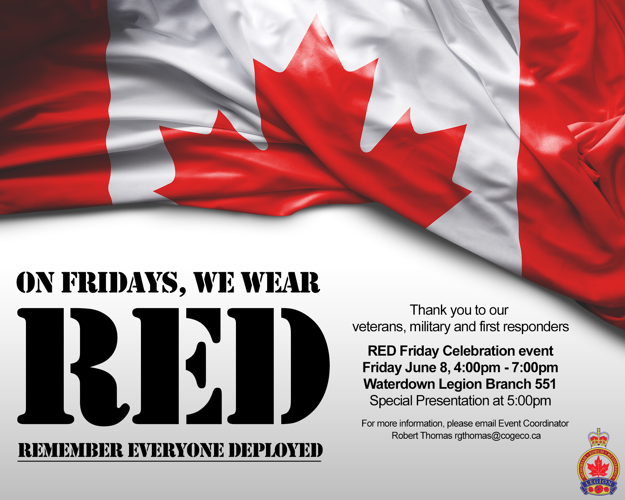2789d663c Red Friday Remember Everyone Deployed Event